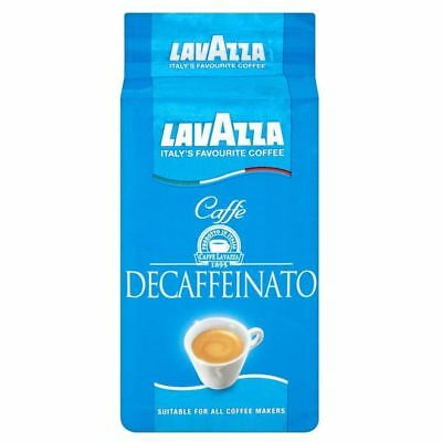 Lavazza Caffe Decaffeinated Italian Ground Coffee (250g)