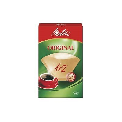 Melitta Classic Two Cup Coffee Filter Papers (40)