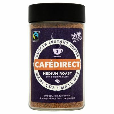 Cafédirect Fairtrade Original Blend Instant Coffee (200g)
