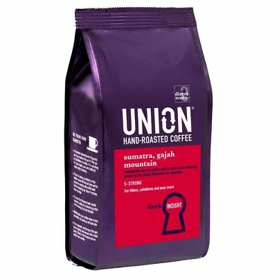Union Hand Roasted Sumatra Gajah Mountain Hand Roasted Coffee (227g)