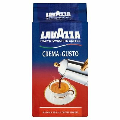 Lavazza Crema E Gusto Ground Coffee (250g)