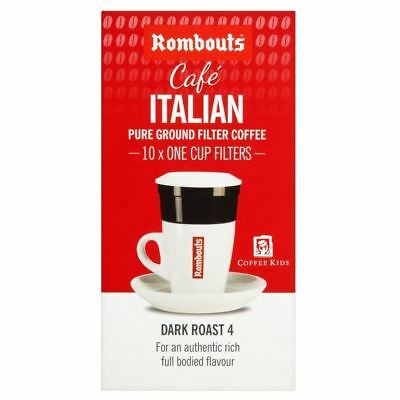 Rombouts Italian Individual Filter Coffee Intense (10)