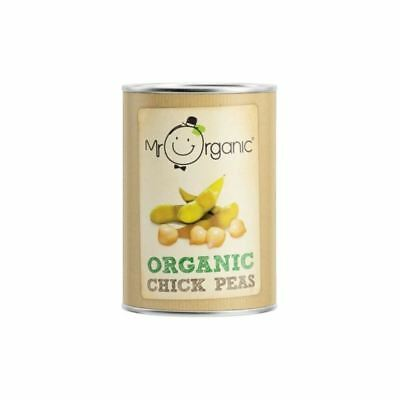 Mr Organic Chick Peas (400g)