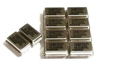 NEW LOT OF 10 CARDINAL CTH 11001 CRYSTAL 930826 28.224 MHz CTH11001 28.224MHz
