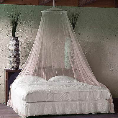 Hanging Mosquito Insect Fly Preotective Net Curtain Single Double Kingsize Bed