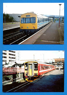 20 Photographs Of Different Dmu Classes.