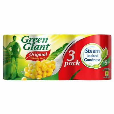Green Giant Niblets Original Sweetcorn (3x340g)