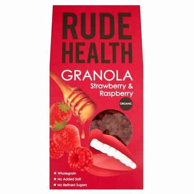 Rude Health Organic Granola Strawberry & Raspberry (475g)