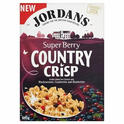 Jordans Country Crisp Super Berry (500g)