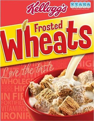 Kellogg's Frosted Wheats (500g)