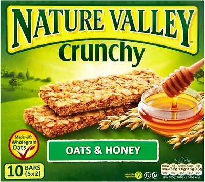 Nature Valley Crunchy Granola Bars - Oats & Honey (5x42g)