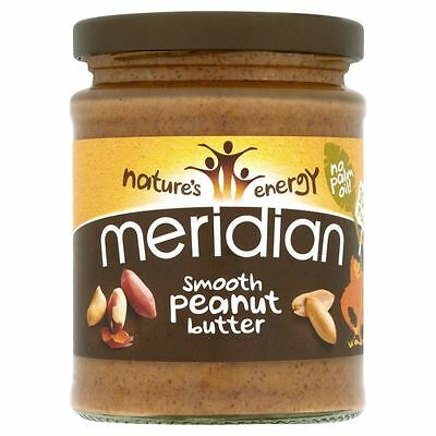 Meridian Natural Smooth Peanut Butter No Added Sugar (280g)