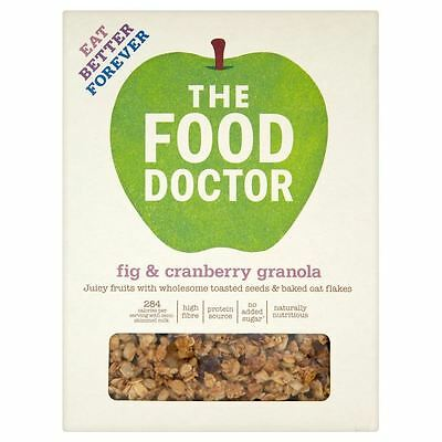 The Food Doctor Fig & Cranberry Granola (425g)