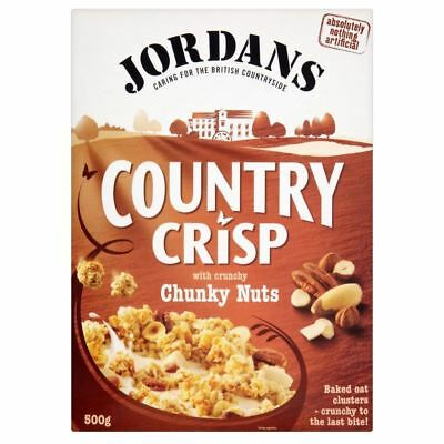 Jordans Country Crisp with Chunky Nuts (500g)