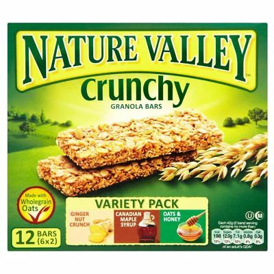 Nature Valley Crunchy Granola Bars - Variety (6x42g)
