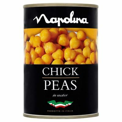 Napolina Chick Peas in Salted Water (400g)