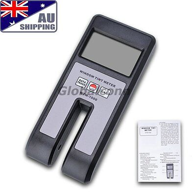 AU Ship Window Tint Measure Transmission Visible Light Meter Shade Glass Film