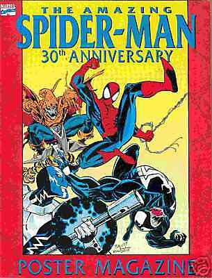 Amazing Spiderman 30th Anniversary Poster Mag # 1 (USA)