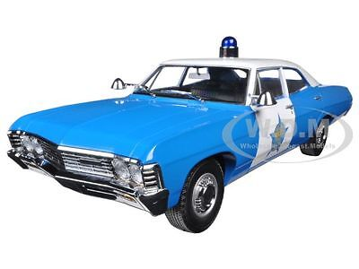 1967 Chevrolet Biscayne Chicago Police Department Cpd 1/18 Greenlight 19009