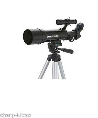 Celestron Compact & Short Refractor Telescope Package For Day & Night Use