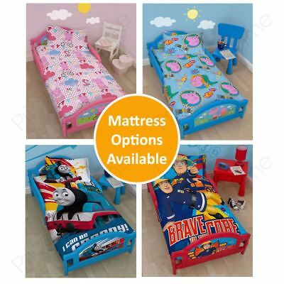 Character Toddler Junior Beds - Peppa, Thomas, Fireman Sam & More!