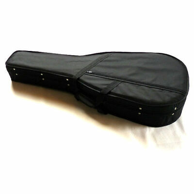 Acoustic Guitar Hard Case Dreadnought High Density Foam Shell Nylon Outer