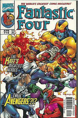 FANTASTIC FOUR #16 (MARVEL) (3rd SERIES) NM-