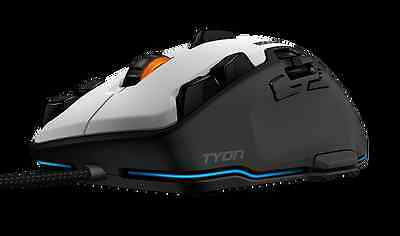 ROCCAT Tyon - All Action Multi-Button Gaming Mouse, 8200dpi, X-Celerator, White
