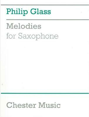 Philip Glass Melodies For Saxophone, Sheet Music, English - 9780711984943