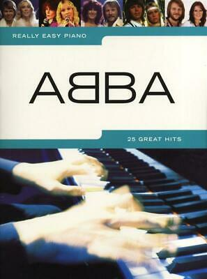 Really Easy Piano: Abba Piano, Voice Sheet Music Artist Songbook