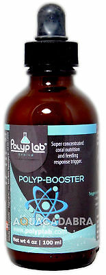 POLYP LAB POLYP-BOOSTER 100ml CORAL INVERTS FISH FEED AMINO ACIDS REEF SALTWATER