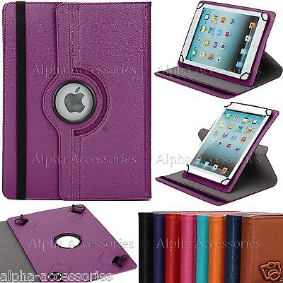 """Universal Folio 360° Rotate Case Cover For 7'' 8'' 9.7'' 10.1"""" Android Tablet PC"""