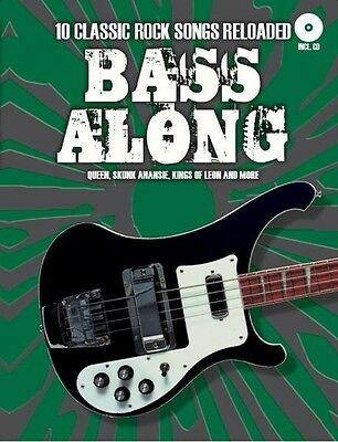 Bass Along 10 Classic Rock Songs Reloaded, Sheet Music, CD - 9783865438225