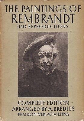 The Paintings of Rembrandt - Complete edition (630 reproductions)   1937