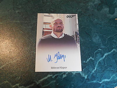 James Bond Archives 2015 Edition - Milorad Kapor / Henchman Full Bleed Autograph