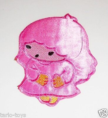 LITTLE TWIN STARS 2000 China ko Lala broderies patch pink - toppa a caldo rosa