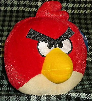 """Angry Birds - Plush 7"""" Toy - Red Bird"""