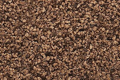 Woodland Scenics B86. Coarse Ballast - Brown.