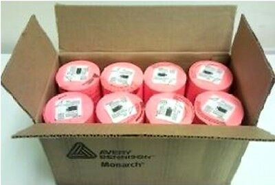 Genuine Monarch 1131 Fluorescent Red Labels One Box