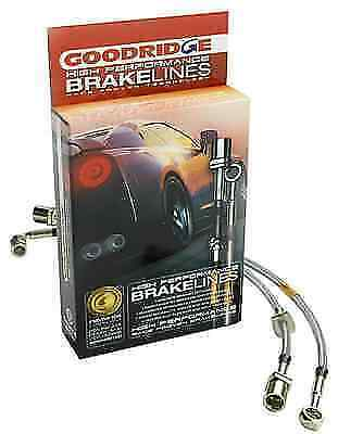 GOODRIDGE 12289 4PC G-Stop Brake Line Kit for 08-09 Pontiac G8 GT Models