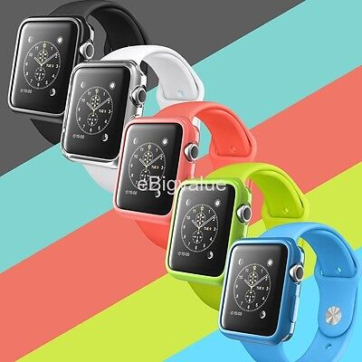 5 Color Combination Pack Apple Watch TPU Case for Apple Watch / Sport (38mm)