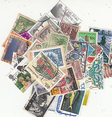 BRITISH COMMONWEALTH  X 300  Stamps Inc..Higher Values Value Lot!!!Each Diff..