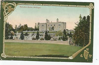 irish postcard ireland westmeath mullingar belvedere house