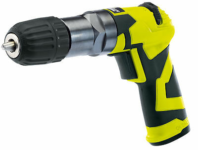 "Storm Force 3/8"" Reversible Air Drill Heavy Duty Drill Chuck Air Tools New"