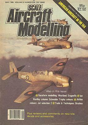 Scale Aircraft Modelling May 84 Ww2 Royal Navy Faa Acft