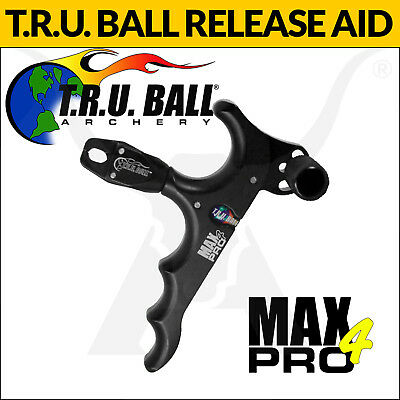 Brand New Tru Ball Max Pro4 Archery Release Aid Compound Bow Hunting And Target