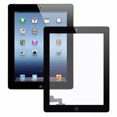 New For Apple iPad 2 Black LCD Touch Screen Digitizer Glass Display Replacement