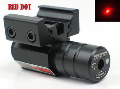 Hunting Red Dot Laser Sight fit11/20mm Rail Mount For Air Gun Rifle Pistol Scope