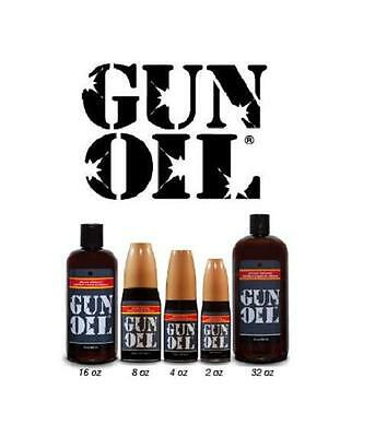 Gun Oil Lube Silicone Based Personal Lubricant Multiple Sizes