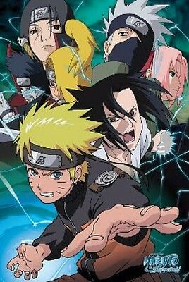 24x36 Naruto Team 7 Poster shrink wrapped